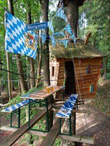 Oktoberfestwochenende im Waldseilgarten Wallenhausen