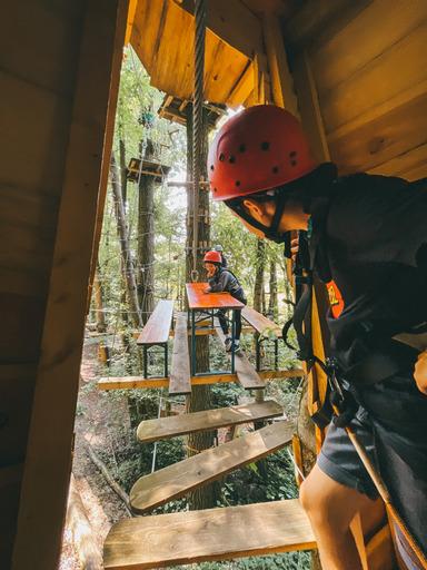 You are currently viewing Familie Krämer von Travelisto zu Besuch bei uns im Waldseilgarten