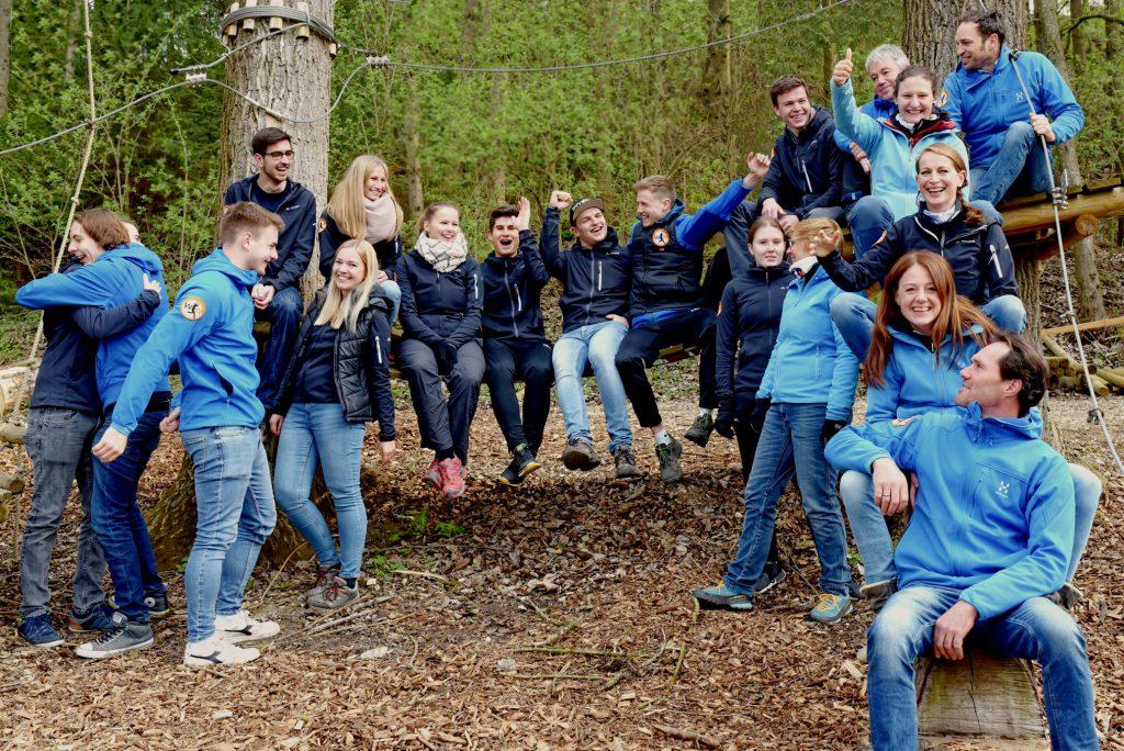 Das Trainerteam im Waldseilgarten Wallenahausen